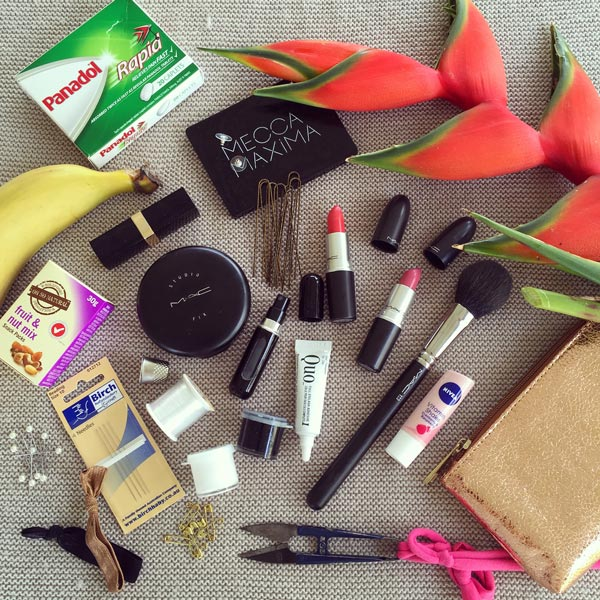 Makeup sewing repair kit fashions on the field
