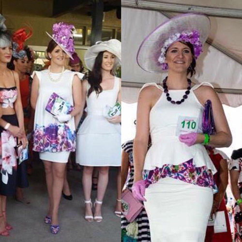 revamped race dress