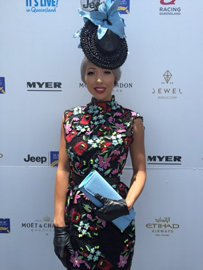 Queensland state final fashions on the field
