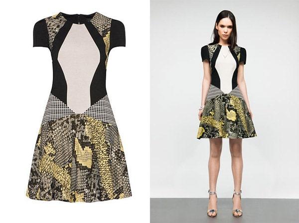 Cue snake print dress