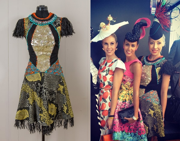 DIY embellish bead couture colour