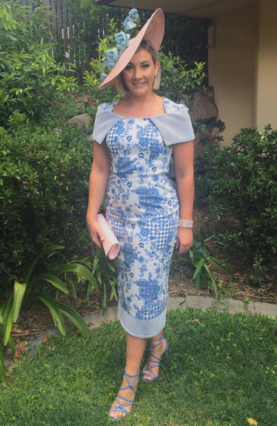 Kerrie dominating print with accent print