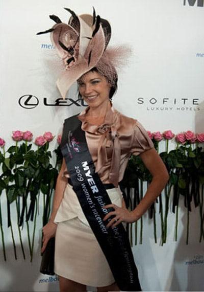 Elizabeth Pollard Myer Fashions on the field past winner