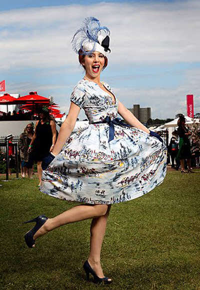 2010 Myer Fashions on the field competition winner