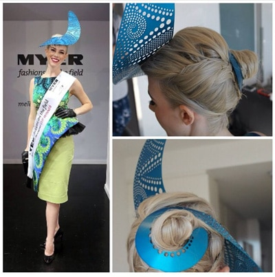 Races Hairstyles with Fascinators - Hair Ideas for Race Day 687ca92bc22