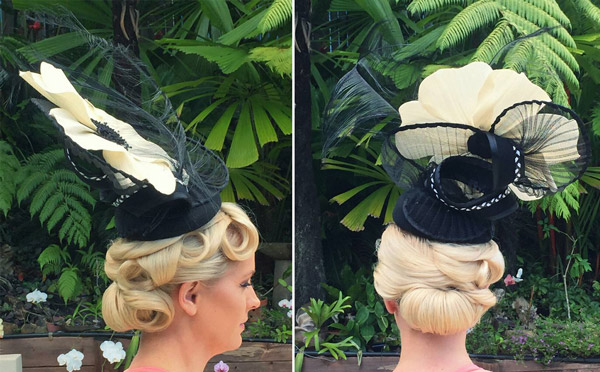 permed hair for melbourne cup