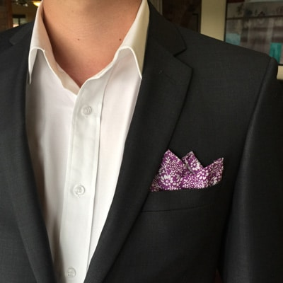 Aficionado's Fold pocket handkerchief