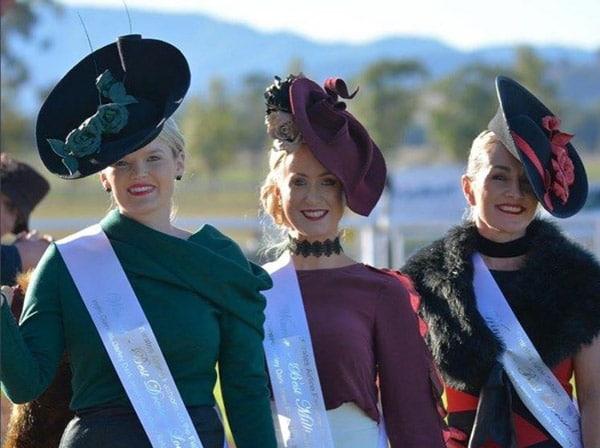 Winter millinery hats