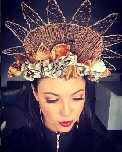 Metal crowns headpieces