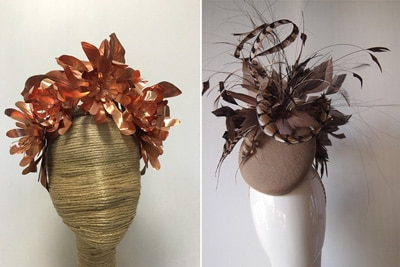 Meredith McMaster Winter Millinery