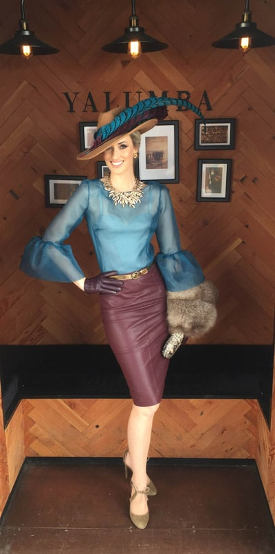 Leather Pencil Skirt Lifesyle Collaboration