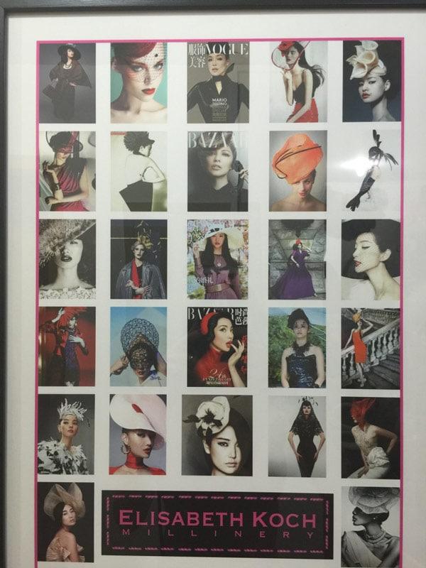 Elizabeth Koch portfolio chinese millinery