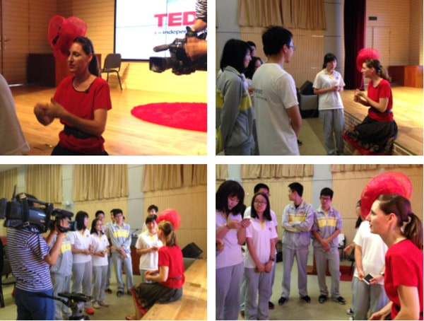 Chinese milliner TED presentation