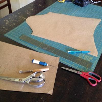 dressmaking pattern DIY