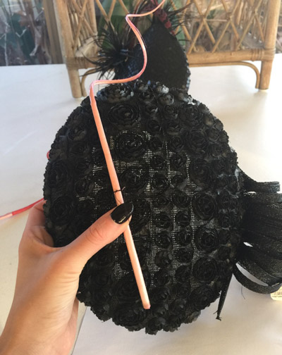 fascinator and feather quill