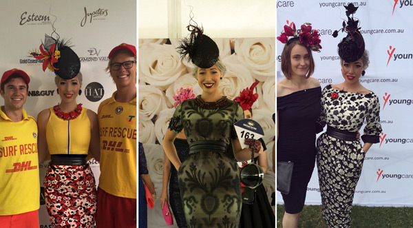 Fashions on the field millinery quills