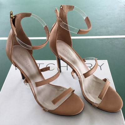 tan coloured witchery shoes