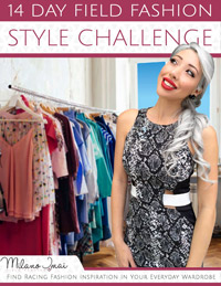 14 day racing fashion style challenge