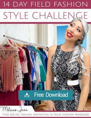 racing fashion wardrobe style challenge