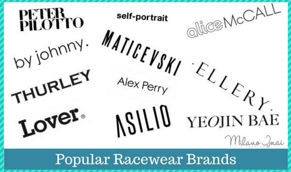best race dress brands