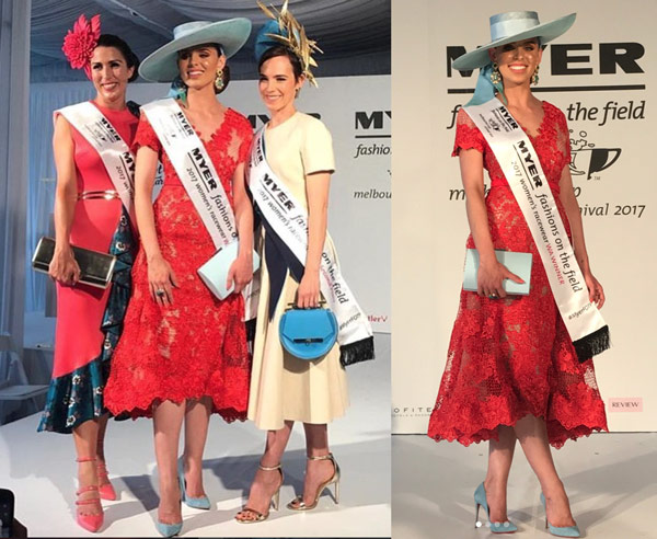 Annabel Davy Myer Fashions on the Field
