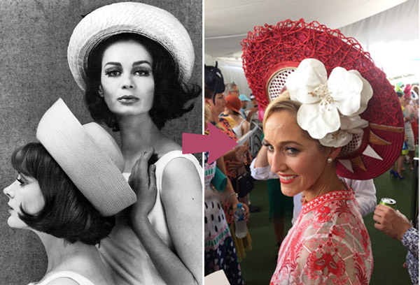 breton becomes halo millinery trend