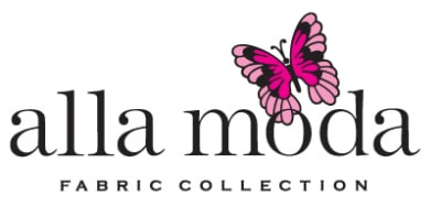 alla moda logo fabric store race wear