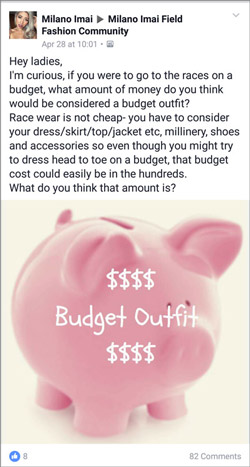 cheap race day outfit tips