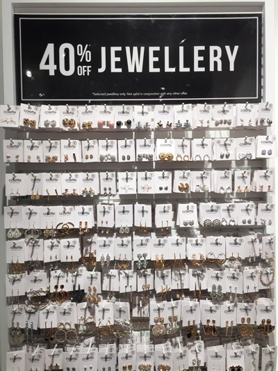 earrings necklace bargain discount jewellery