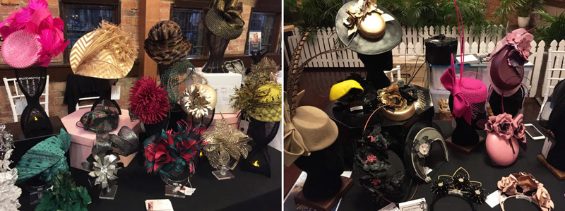 milliners market fascinator showcase