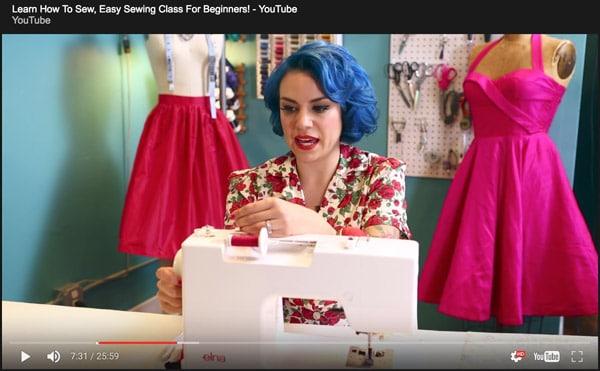 DIY skills sewing craft youtube
