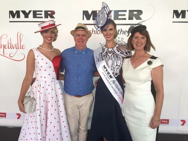 Courtney Moore FOTF Winning Outfit Racewear Millinery