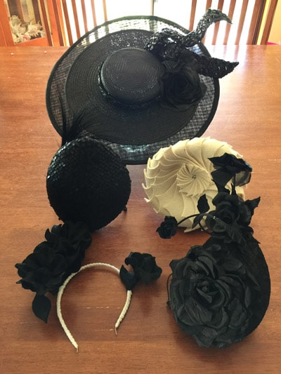 millinery hat collection derby day
