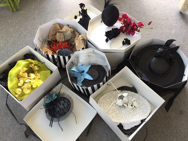10 different race day hats