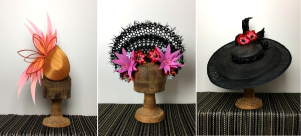 Traditional millnery hat designs