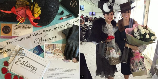 racing fashion competition prize packs