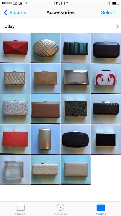 photos of your bags hack