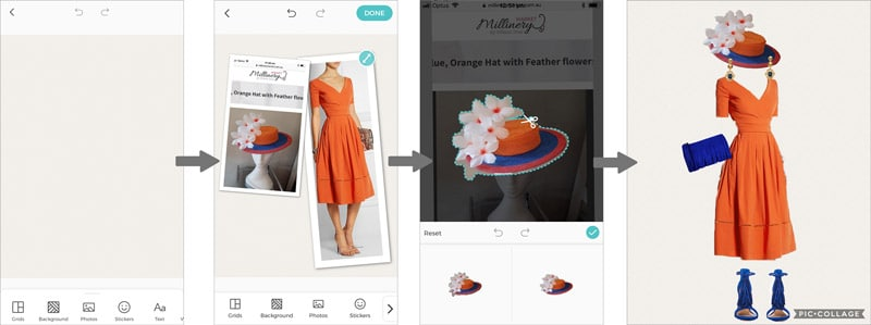 how to use a fashion closet planning app