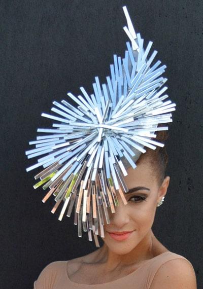 mirror design hat