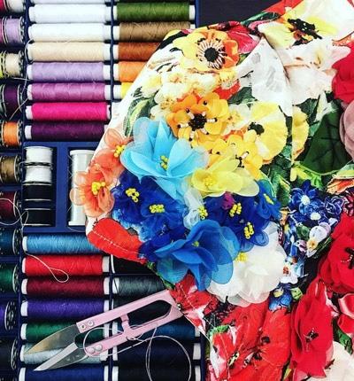 colourful floral DIY