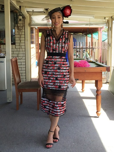 racing fashion blogger
