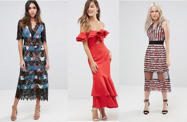 dress shopping online asos