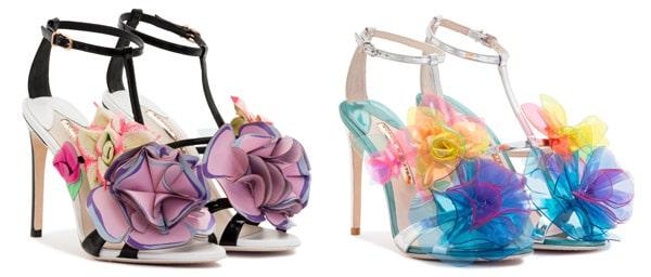 Sophia Webster colourful high heels