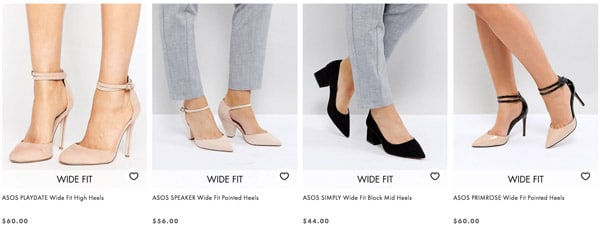 high heels for plus size ladies