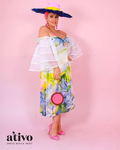 Salvos dress worn by Dahyna