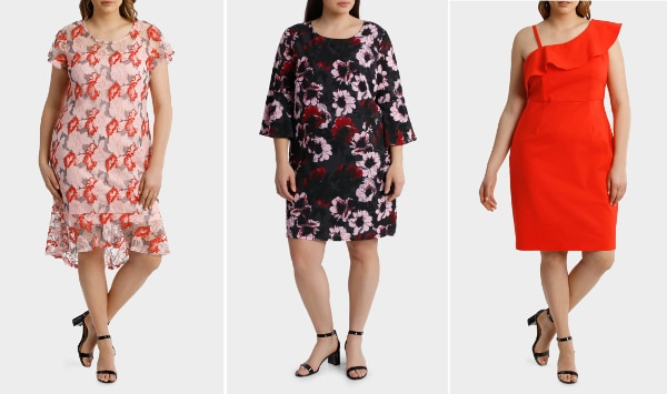 Dresses from Myers online store