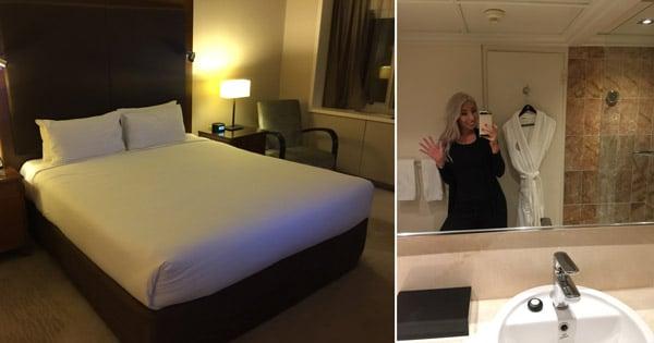 hotel stay fashion judging