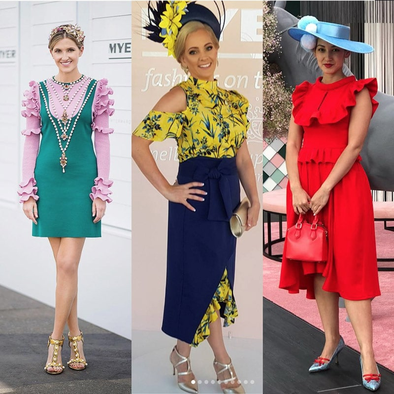 racewear outfit colour choices