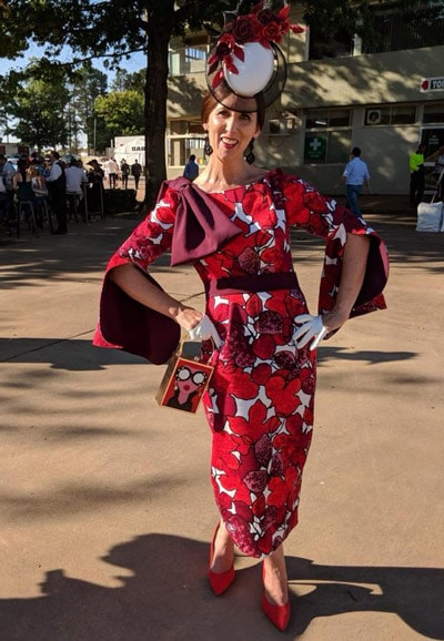 colourful race day outfits