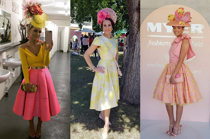 popular colours for race day